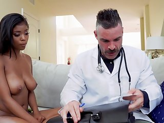 Inexperienced ebony youngster Nia Nacci falls prey nearly a disparaging doctor