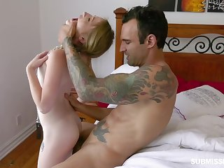 Vest-pocket newborn loves to be impaled on a hard cock and that girl loves juicy cocks