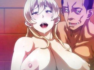Busty blondie hot hentai porn videotape